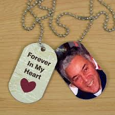 personalized in loving memory gifts personalized memorial photo dog tags memorial gifts from