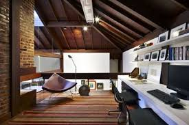 Cozy Attic Home Office Design Ideas - Home office design images