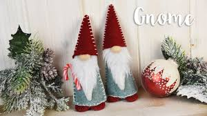 how to make your own christmas gnome sizzix lifestyle youtube