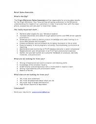 Retail Sales Associate Resume Template Resume Examples Sales Associate Retail Resume Ideas