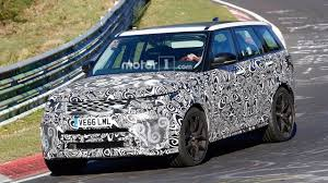 land rover range rover land rover range rover sport svr spied lapping the u0027ring