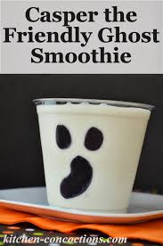 casper the friendly ghost smoothie a k a very vanilla smoothie