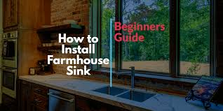 how to install farmhouse sink in base cabinet how to install farmhouse sink step by step