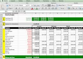 Excel Spreadsheet For Budgeting Budget Excel Sheet Thebridgesummit Co