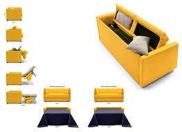 Yellow Sofa Bed Modern Sofa Beds Sb 24 Made In Italy