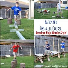 Backyard Obstacle Course Ideas Diy American Warrior Backyard Obstacle Course Backyard