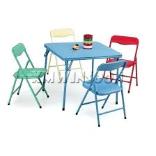 childrens table chair sets cheap kid table and chair sets 5 piece steel kids folding table and