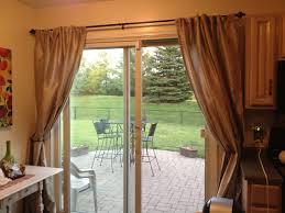 interior gorgeous window treatment ideas for patio sliding doors