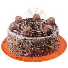 send cakes ferrero rocher cake 2lbs from sachas gift to pakistan