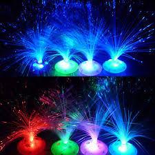 fiber optic lamp led centerpiece light wedding party decoration