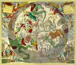Map Of Amsterdam Map Of The Constellations U0027 By Petrus Schenk 1660 1711 A German
