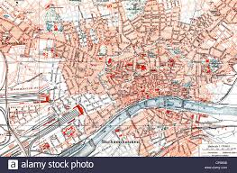 me where i am on a map historical map of frankfurt am hesse germany 1890 stock