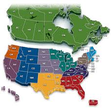 canada states map of usa and canada states map usa quizzes inside america