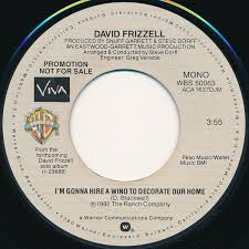 gonna hire a wino to decorate my home david frizzell i m gonna hire a wino to decorate our home vinyl