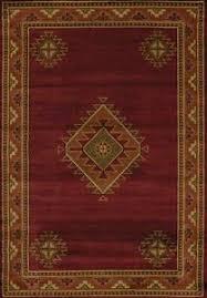 laramie burgundy southwest area rug 3 sizes or runner western