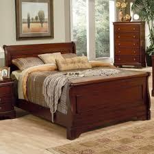 Solid Wood Bed Frames Sleigh Beds You U0027ll Love Wayfair