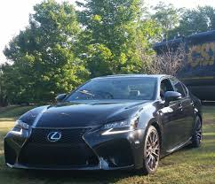 gsf lexus horsepower ride along lexus gs f black america web