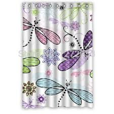 Dragonfly Shower Curtains 11 Best Dragonflies And Butterflies Decor Images On Pinterest