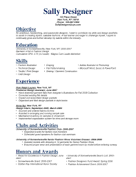 Resume Sample For Internship by Fashion Designer Resume Sample 22 Related Free Resume Examples