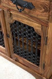 jali 3 door sheesham sideboard sheesham furniture furniture jali sheesham small sideboard casa furniture uk