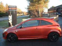 vauxhall orange vauxhall corsa 1 2 limited edition orange 2012 in elgin moray
