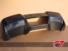 carbon fiber corvette parts c7 corvette oem carbon fiber rear diffuser with exhaust shield c7