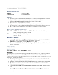 Sample Federal Budget Analyst Resume by Cv Hr