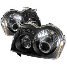 jeep grand cherokee blackout amazon com spyder auto jeep grand cherokee black halogen led