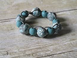 cord bracelet with beads images Tutorial leather and clay bead bracelet the chilly dog JPG
