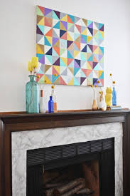 contact paper diy marble fireplace makeover with contact paper shelterness