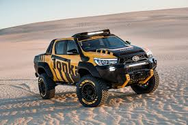 the tonka toyota one off toy hilux built by car magazine