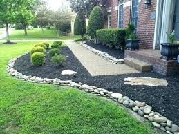 stone flower bed border gorgeous landscape designs and modern