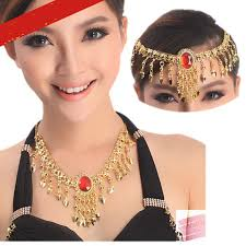 necklace headwear belly hair accessories decorations for