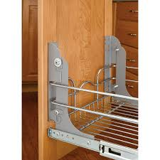 kitchen cabinet trash pull out rev a shelf pull out trash can mounting kit lowe s canada