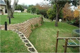 backyards awesome 130 interlocking concrete blocks for garden