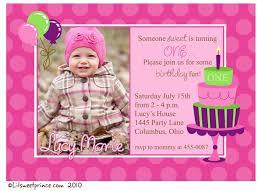 1st birthday invitation wordings ideas best 25 1st birthday