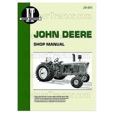 jd203 john deere i u0026t shop manual col