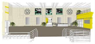 fitness center floor plan design northwest branding foster fitness center on behance