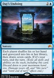 Magic The Gathering Sliver Deck Standard by Day U0027s Undoing Mtg Card
