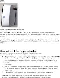 f9k1126v1 wifi repeater user manual users manual belkin