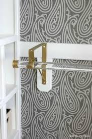 Curtain As Closet Door Replacing Bi Fold Closet Doors With Curtains Our Closet Makeover