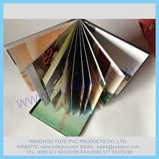 Self Adhesive Album Cangnan Longgang Pute Pvc Products Co Ltd Adhesive Album Pvc