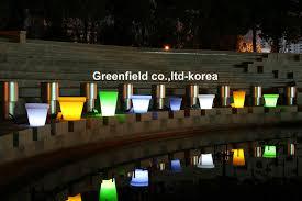 flower pot solar light solar flower pot from green field company b2b marketplace portal