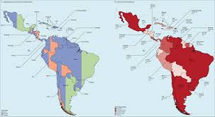 Map Of North America And South America With Countries by Planning Cancer Control In Latin America And The Caribbean The