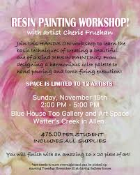 resin painting workshop tickets sun nov 19 2017 at 2 00 pm