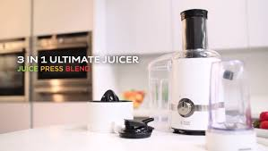 3 In 1 Kitchen by Russell Hobbs 3 In 1 Ultimate Juicer Youtube