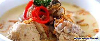 menu pelengkap opor ayam resep opor ayam spesial ala bundaku masakan indonesia resepku me