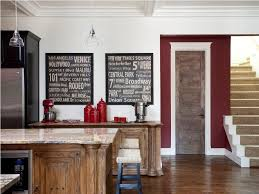 islands in the kitchen design fascinating large wooden framed decorative chalkboard for