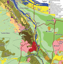 Boring Oregon Map by Portland By Bus U0026 Tram U2014 Geological Society Of The Oregon Country