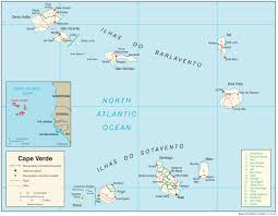 Michigan On Map Cape Verde Maps Perry Castañeda Map Collection Ut Library Online